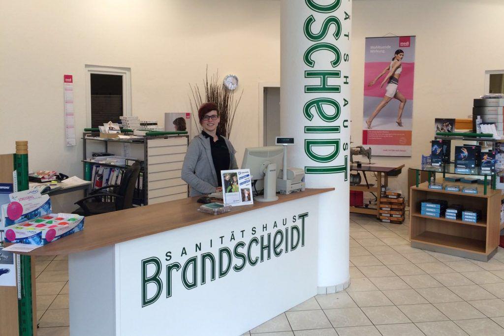 Ladengeschäft und kompetente Beratung in Zweigstelle Bremen| Sanitätshaus Brandscheidt